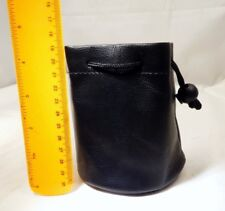 """Soft Pouch Drawstring Protective Lens Case 4X4"""" for  28mm 50mm 35mm lenses"""