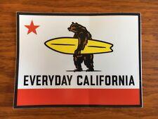 California Flag Surfboard sticker surfing decal surf