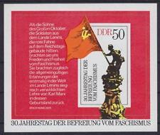 DDR Block 42 **, 30. Jahrestag Befreiung 1975, postfrisch, MNH
