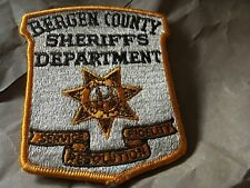 Bergen County Sheriff's Dept (New Jersey) 2nd Issue Shoulder patch NB