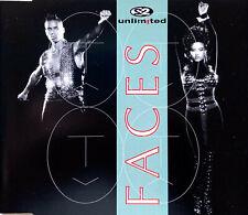 2 Unlimited Maxi CD Faces - France (M/EX)