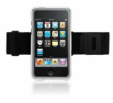 (2) Griffin iClear Case Shell with Belt Clip and Armband for iPod Touch 2nd Gen