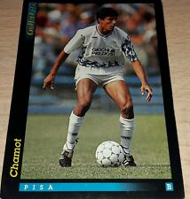 CARD GOLD 1993 PISA CHAMOT CALCIO FOOTBALL SOCCER ALBUM