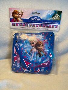 Disney Frozen Happy Birthday Banner  6 Feet Unique Products NWT