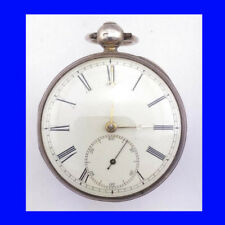 Stunning & Rare Silver Irish Sharpe of Dublin Fusee Lever Pocket Watch 1841