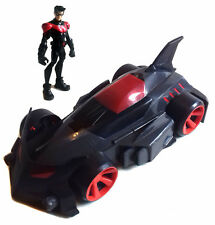 DC COMICS BATMAN figura illimitato NIGHTWING & BATMOBILE Veicolo Giocattolo Set-Nizza!