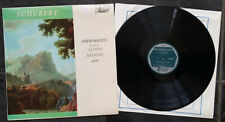 12 in VINYL LP, SCHUBERT, IMPROMPTUS Op 90 & 142, BRENDEL, TURNABOUT TV34141S