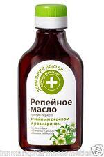 45989 Bardana olio anti-forfora con Tea Tree & Rosmarino 100 ML HOME Doctor