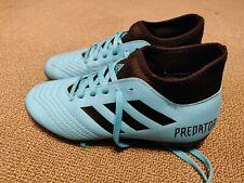 Kid's Adidas Predator Soccer Shoes Size 3 Light Blue