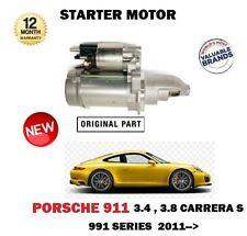 FOR PORSCHE 911 3.4 3.8 CARRERA S 991 350bhp 400bhp 2011->NEW STARTER MOTOR