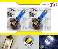Flosser Silver Blue 6000K White H7 70W Head Light Two Bulbs Low Beam Replacement
