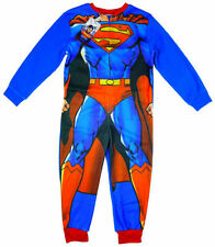 Pyjamas bleus polaire pour garçon de 2 à 16 ans