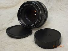 Asahi Pentax SMC 55mm 1.8 Vintage Fast Prime Lens and  + cap