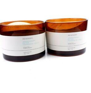2 x Pecksniff's Aromatherapy De-Tox Candles 300g Each. 3 Wicks detox yourself.
