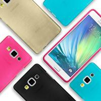 Silicone Bumper Case Samsung Galaxy A5 2015 Ultra Slim Shockproof Back Cover
