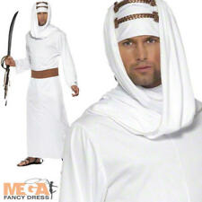 Lawrence of Arabia Mens Fancy Dress National Arab Book Day Adults Costume Outfit