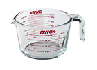 Pyrex Prepware 4-cup Measuring Cup, Red Graphics, Clear