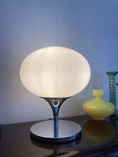 Mid Century Space Age Kugellampe Kaiser Leuchten Opal 70's Messing bubble lamp