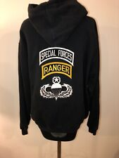 Army Special Forces Ranger Pullover Hoodie Sweatshirt Small