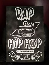 Rap Hip hop Spray Paint Painting Canvas Wall Art Graffiti