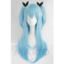 Sora no Method Noel Heroine Anime Cos Wig Clip Ponytail Cosplay Party Wig Hair