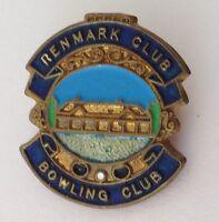 Renmark Bowling Club Badge Pin Lawn Bowls (K1)