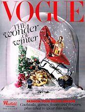 VOGUE UK The Wonder of Winter CHRISTMAS 2013 JOSEFIEN RODERMANS Shoes Trends NEW