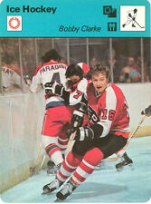 BOBBY CLARKE 1979 Sportscaster #60-12 High# PHILADELPHIA FLYERS vs WASH CAPITALS