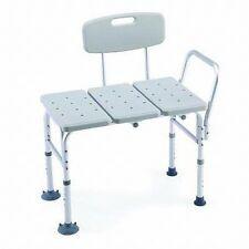 Shower Chair Bath Safety Seat Transfer Bench Stool Heavy Duty Bathtub Handicap