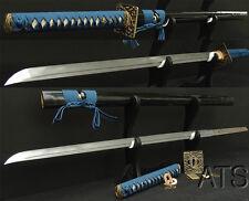 Japanese Hand Forged Folded Steel Samurai Sword CHOKUTO NINJATO + Customization