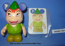 "DISNEY VINYLMATION 3"" ANIMATION SERIES 1 PETER PAN with CARD"