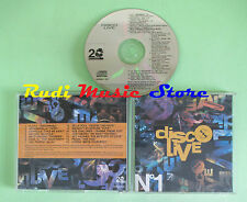 CD DISCO LIVE N. 1 compilation 1991 DATURA ANTICAPPELLA DATURA (C33) no mc lp