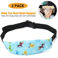 Baby Carseat Head Support Band Strap 2 Pack for Stroller Neck Relief Head Strap