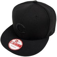 New Era MLB Chicago Cubs Black on Black GORRA SNAPBACK 9fifty Limitado Edición