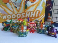 Superzings Series 4 Rivals of Kaboom Figure Rare Kid Kazoom Gold Silver FAST P&P