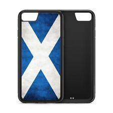 Scotland Flag Scottish Black Rubber Phone Case
