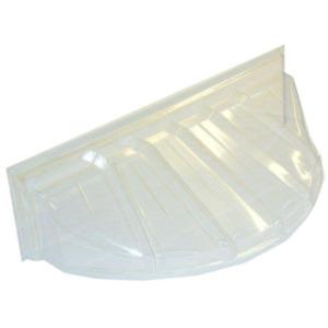 42 in. x 15 in. Polyethylene Reversible Bubble Window Well Cover Heavy Duty New
