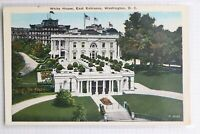 White House East Entrance Washington DC Reynolds  Mint Postcard