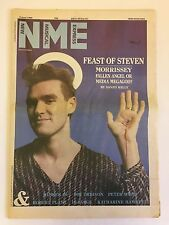 NEW MUSICAL EXPRESS NME MAGAZINE  8 JUNE 1985  MORRISSEY    LS