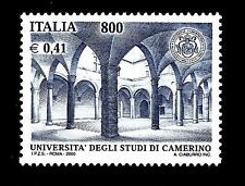 ITALIA REP. - 2000 - 800 L. - 0,41 € - Università degli Studi di Camerino mnh