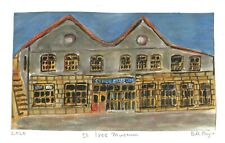 """2020 acrylic """"St Ives Museum"""" by Bill Payne.Bryan Pearce genre"""