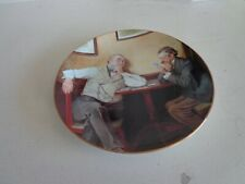 Norman Rockwell collector plate, Best friends, no box
