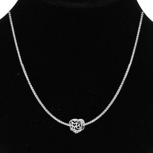 I Love My Wife charm Necklace - Silver Box Chain charm bead - love necklace