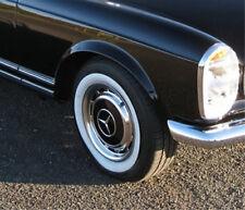 """4x Weißwandringe 15"""" + Zulassung Mercedes SL W107 W123  Weißwandreifen"""