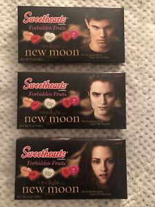 Twilight New Moon Sweethearts Forbidden Fruits Complete set of 3