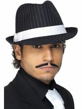 Cappelli e copricapi Smiffys in poliestere per carnevale e teatro, tema gangster