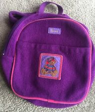 """""""HARRODS LONDON"""" PURPLE BACKPACK FROM UK SELLING THIS VERY CHEAPLY AS NAME ON IT"""