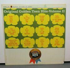 ORIGINAL GOLDEN TEEN HITS VOL II LESLEY GORE GARY U.S. BONDS (VG+) VINYL RECORD
