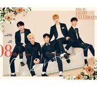 HIGHLIGHT Celebrate 2nd Mini Album A Ver CD+Photobook+Photocard+MessageCard