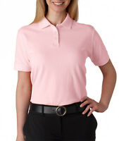 UltraClub Women's Classic Pique Polo 8530 XS-2XL